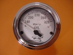 V-Temp - Oil Temp Gauge for Harley Davidson FLH