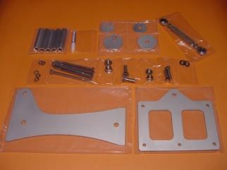 Aluminium Silver-Satin Kit